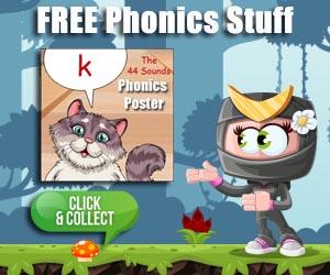 Free Printable Phonics Resources