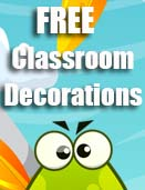 Free Classroom Decorations to Edit & Print