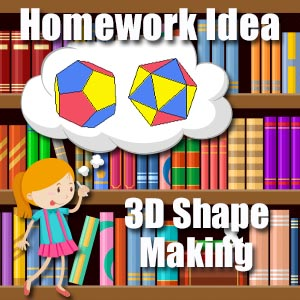 3d shape making homework