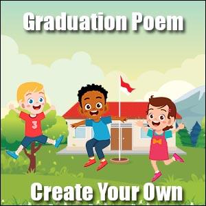 Graduation Poem Scaffold