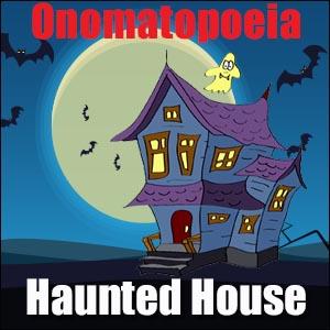 Spooky Poem with Onomatopoeia
