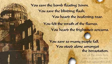 Hiroshima Day Poetry