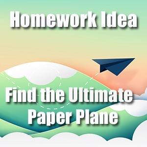 Paper Plane Homework