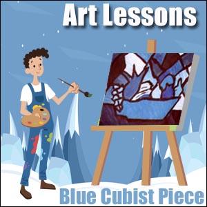 Art Lesson Idea - Blue Period