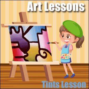 Art Lesson Ideas-Tints
