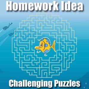 Homework Idea - Puzzles