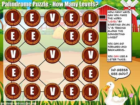 Problem Solving Activity - Palindrome Puzzle