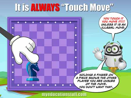 Touch Move - Chess Rule