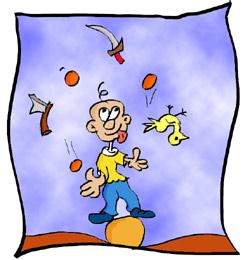 Homework Idea - Juggling
