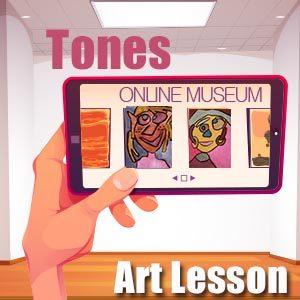 Art Lesson Idea - Tones