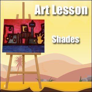 Shades Art Lesson